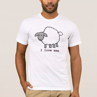 Amo ovejas de la oveja playera