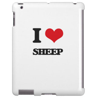Amo ovejas funda para iPad