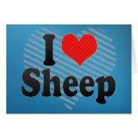 Amo ovejas tarjetón
