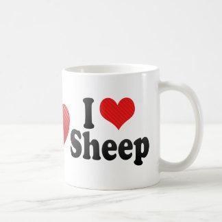 Amo ovejas tazas