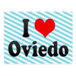 Amo Oviedo, España Tarjetas Postales