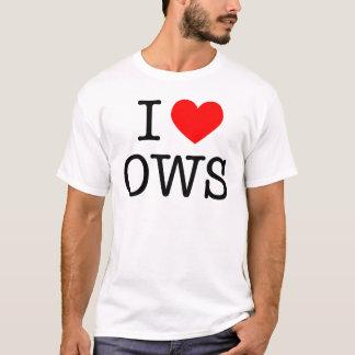 Amo OWS - donación 100% OWS Playera