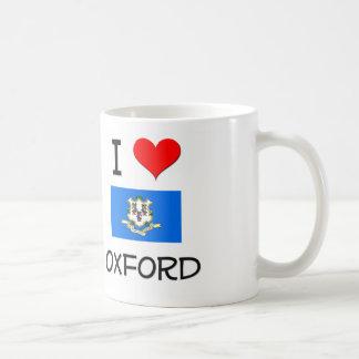 Amo Oxford Connecticut Tazas De Café