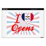 Amo Oyens, Iowa 38,1cm Portátil Calcomanía