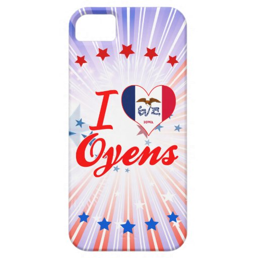 Amo Oyens, Iowa iPhone 5 Case-Mate Protectores