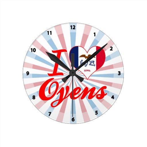 Amo Oyens, Iowa Reloj