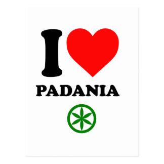 Amo Padania Tarjeta Postal