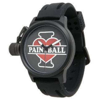 Amo Paintball Relojes De Pulsera