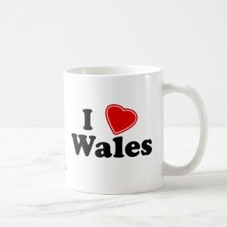 Amo País de Gales Taza