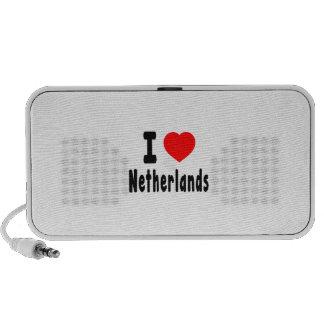 Amo Países Bajos iPod Altavoz
