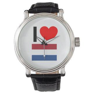 amo Países Bajos Reloj De Mano