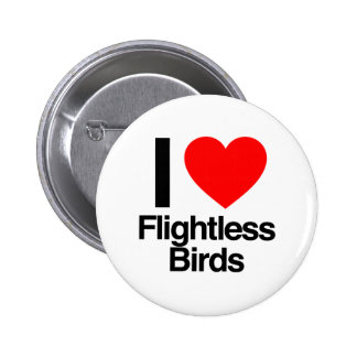 amo pájaros flightless pin