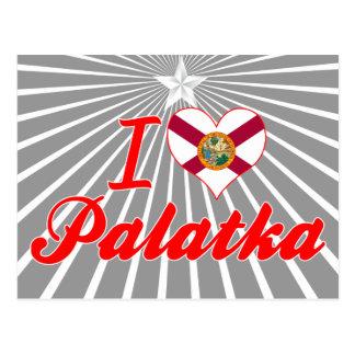 Amo Palatka, la Florida Postales