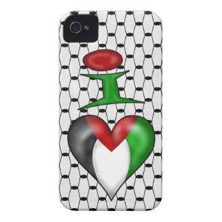 Amo Palestina iPhone 4 Carcasas