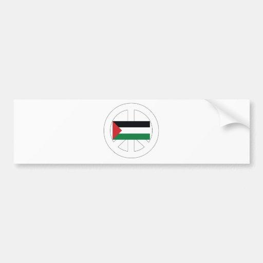 Amo Palestina Pegatina Para Auto