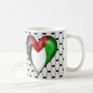 Amo Palestina Taza Clásica