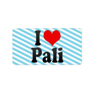 Amo Pali, la India. Mera Pyar Pali, la India Etiqueta De Dirección
