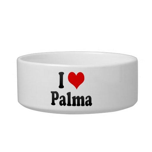 Amo Palma, España Tazón Para Gato