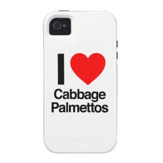 amo palmettos de col iPhone 4 carcasa