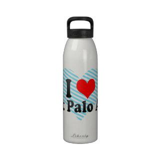 Amo Palo Alto del este Estados Unidos Botella De Agua Reutilizable