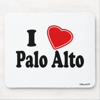Amo Palo Alto Alfombrillas De Raton
