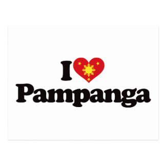 Amo Pampanga Tarjeta Postal