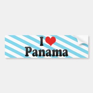 Amo Panamá Pegatina De Parachoque