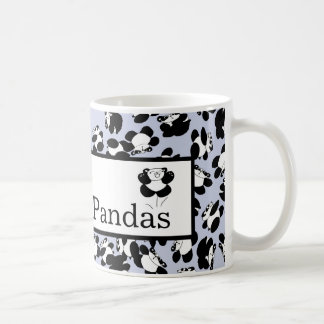 Amo pandas taza