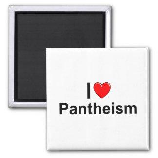 Amo panteísmo (del corazón) iman para frigorífico