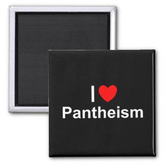 Amo panteísmo (del corazón) imán de nevera