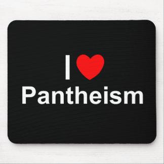 Amo panteísmo (del corazón) mousepad