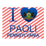 Amo Paoli, PA Tarjetas Postales