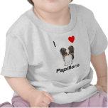 Amo Papillons (la imagen) Camiseta