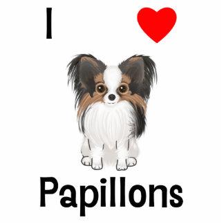 Amo Papillons (la imagen) Fotoescultura Vertical