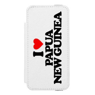 AMO PAPÚA NUEVA GUINEA FUNDA BILLETERA PARA iPhone 5 WATSON