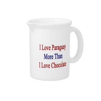 Amo Paraguay más que el chocolate del amor de I Jarrón