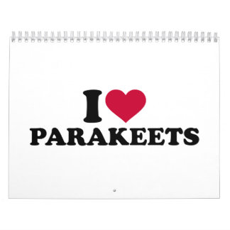 Amo parakeets calendarios