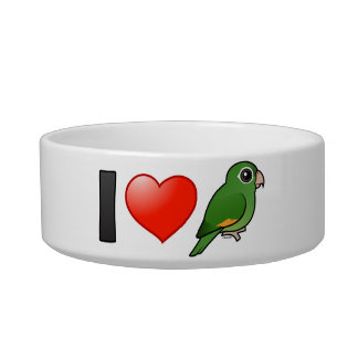 Amo Parakeets De oro-cons alas Comedero Para Mascota