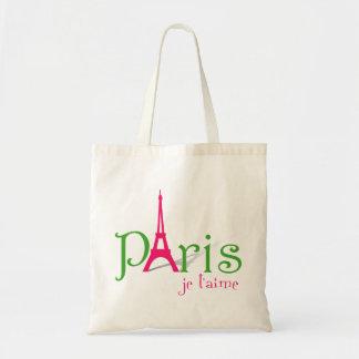 Amo París Bolsa Tela Barata
