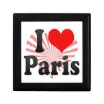 Amo París Caja De Recuerdo
