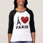 Amo París Camiseta
