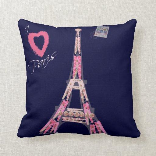Amo París Almohadas