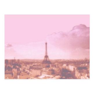 Amo París en la primavera Tarjetas Postales