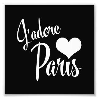 Amo París - estilo del vintage de J'adore París Fotografía