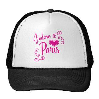 Amo París - estilo del vintage de J'adore París Gorros
