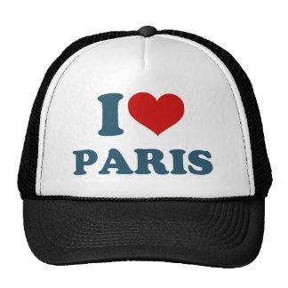 Amo París Gorras De Camionero
