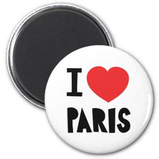 Amo París Imán Para Frigorifico