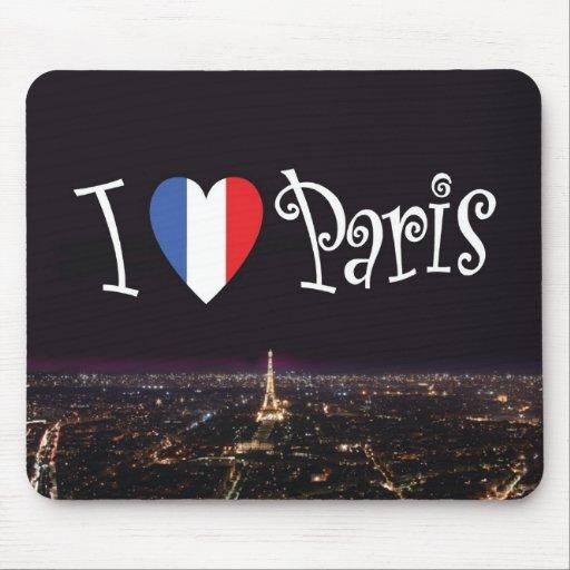 Amo París Mousepad Tapetes De Ratones