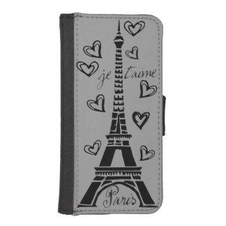 ¡Amo París, París Je Taime! Billetera Para Teléfono