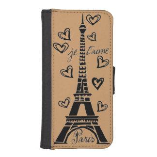 ¡Amo París, París Je Taime! Billeteras Para Teléfono